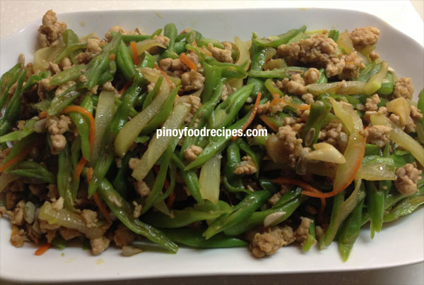 Ginisang gulay stir fry vegetables filipino food giniling stirfry vegetables cooking procedure forumfinder Images